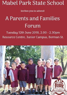 Parent and Families Forum
